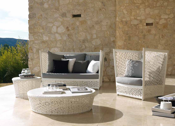 Salon de jardin Tunis  Mobilier contemporain
