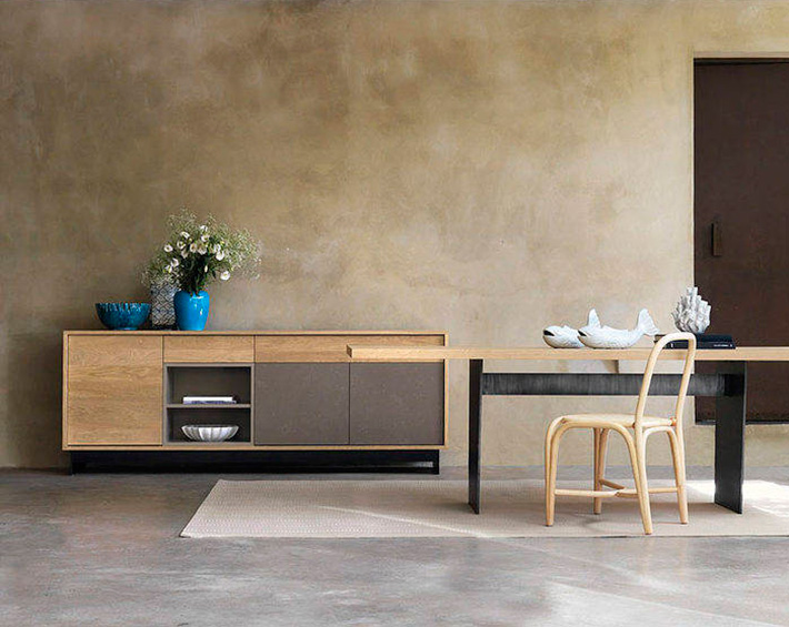 Buffet contemporain montpellier archives for interior living - Buffet bois massif contemporain ...