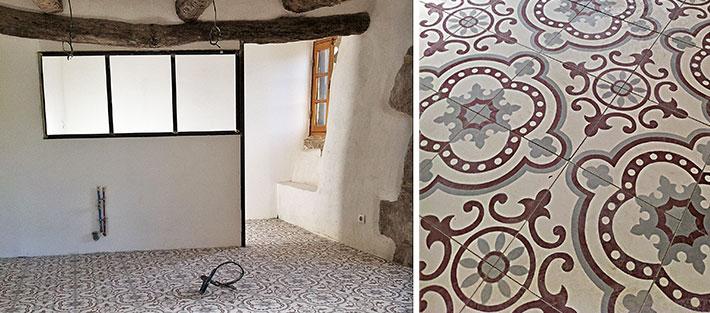 carreaux de ciment la cimenterie de la tour. Black Bedroom Furniture Sets. Home Design Ideas
