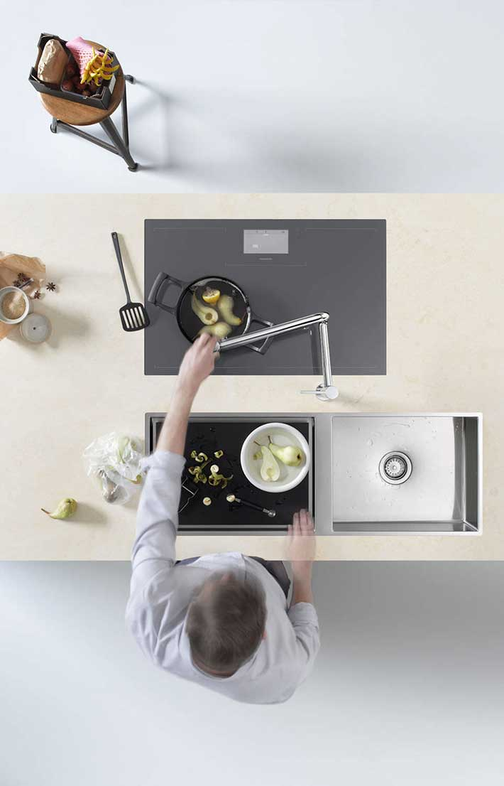 Robinetterie dornbracht installation de cuisine montpellier for Robinetterie de cuisine