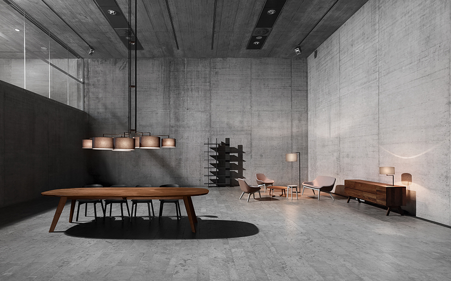 zeitraum luminaires contemporain noon. Black Bedroom Furniture Sets. Home Design Ideas