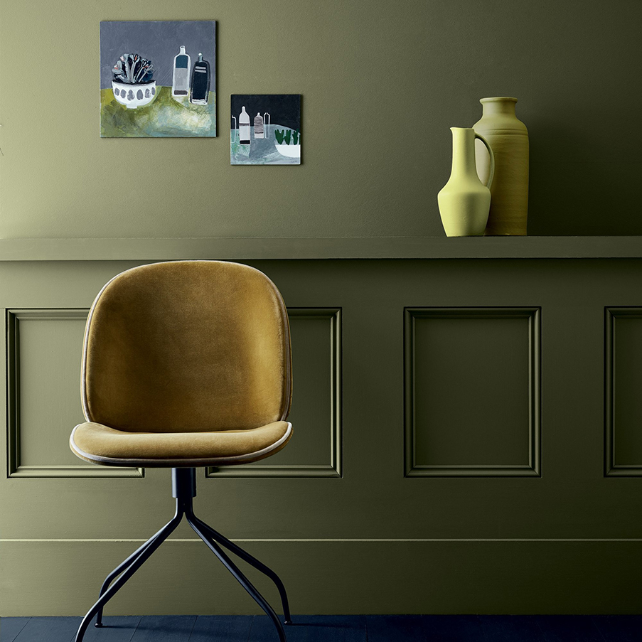 peinture little greene nouveaux nuancier vert for interior living. Black Bedroom Furniture Sets. Home Design Ideas